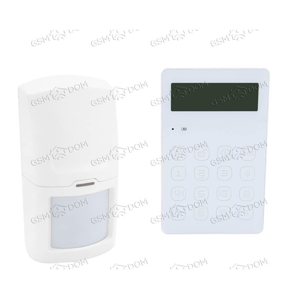 Беспроводная охранная 2G GSM сигнализация Страж Line - 2