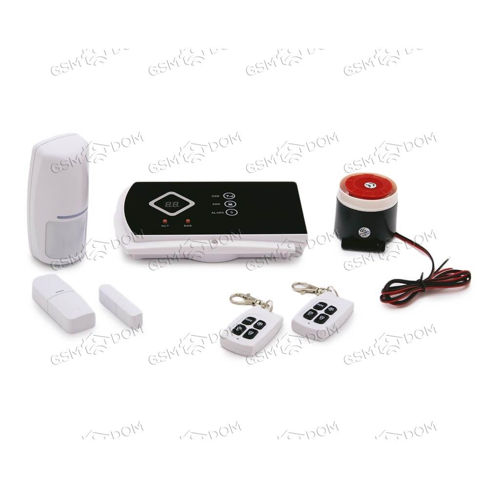 Беспроводная охранная GSM сигнализация Страж Премиум (10C)