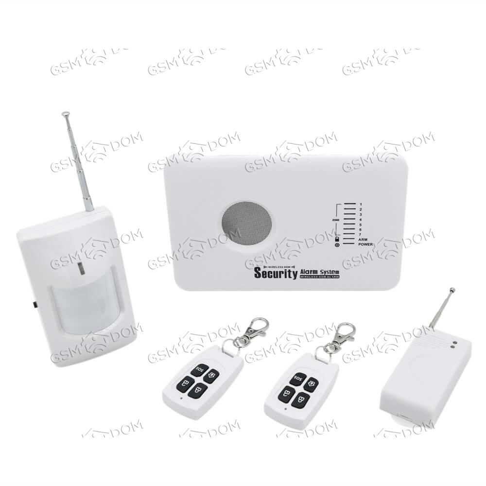 Беспроводная охранная GSM сигнализация Страж Старт (10A)